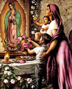 virgen de Guadalupe oración